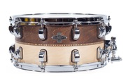Liberty Drums - Whiskey Natural Inlay Series Snare Drum