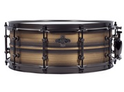 Liberty Drums - Brushed Brass Metal Series Snare Drum